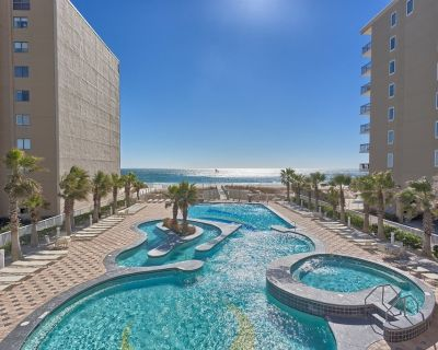 Renovated Beachfront Condo with Skywalk, 3 Pools, Balcony and more! - Gulf Shores