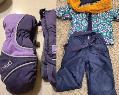 Snow jacket and snow pants