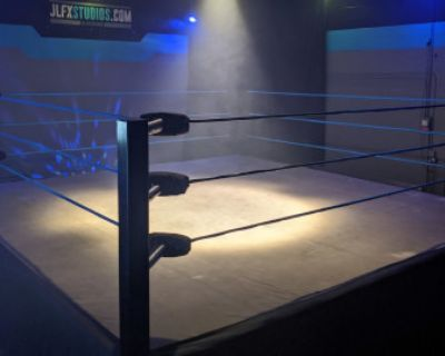 PRO WRESTLING or BOXING RING MMA Fight Arena Sports, Burbank, CA