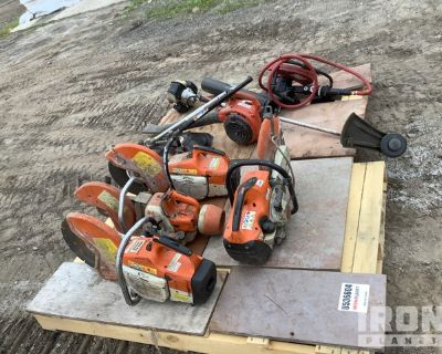 Lot of Saws, Blower & Weedeater