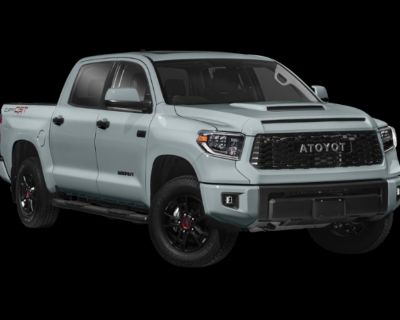 New 2021 Toyota Tundra 4WD TRD Pro CrewMax 5.5' Bed 5.7L (Natl) - In-Stock