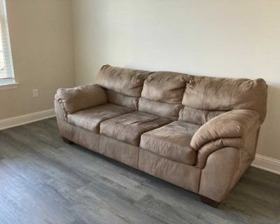 Light Brown Couch comes from a non-smoking, pet free home