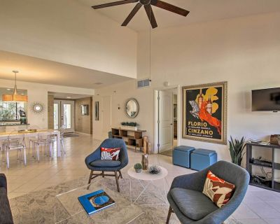 NEW! Modern Palm Springs Townhome - Steps to Pool! - Sunrise Villas