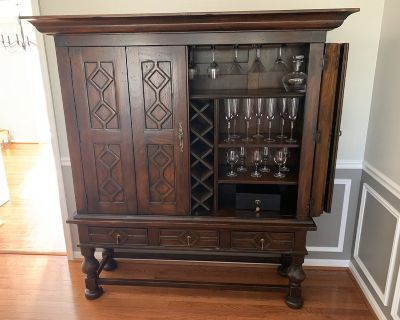 Wine Cabinet, European Country Living, Toscana