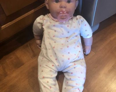 Berenguer baby doll w pacifier