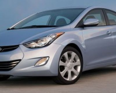 Pre-Owned 2011 Hyundai Elantra LIMITED