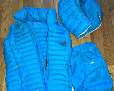 North Face toddler puff vest