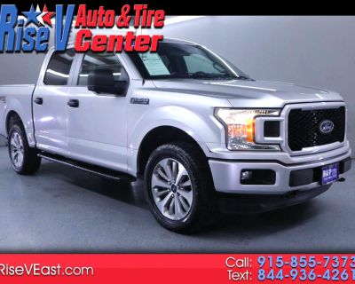 Used 2018 Ford F-150 STX SuperCrew 4WD