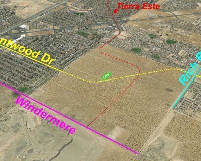 Potential Montwood Frontage in Section 3