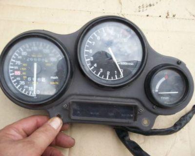 Yamaha Fzr Gauge Pack Speedometer Tachometer Broke Trip ? Fzr 1000 ? Speedo Tach