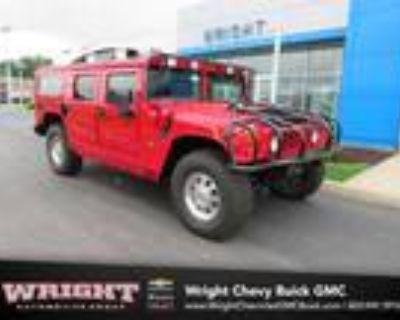 2002 Hummer H1 Red, 51K miles