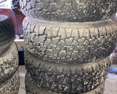 Tires size 14 and 16