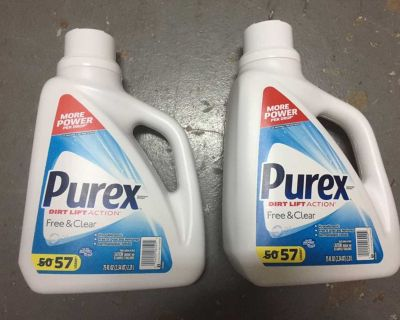 114 Loads - Pyrex Free & Clear Laundry Detergent