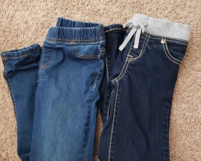 2 pairs size 8 jeans