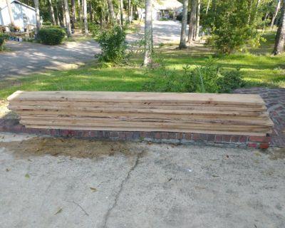 Rough cut lumber