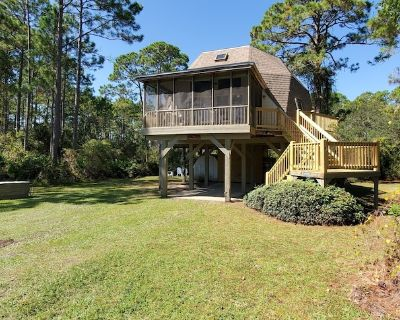 Gulf view Dome Cottage just a short walk to uncrowded beach! - Sopchoppy