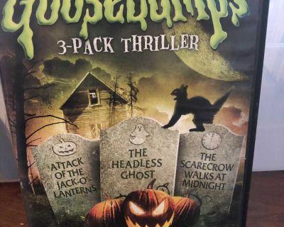 Goosebumps 1996. 3 movies.