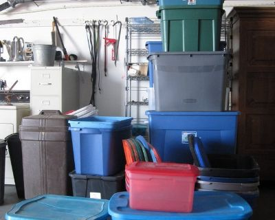 Several Storage Containers