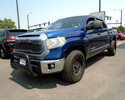 Used 2014 Toyota Tundra 2WD Truck CrewMax 5.7L V8 6-Spd AT SR5 (Natl)