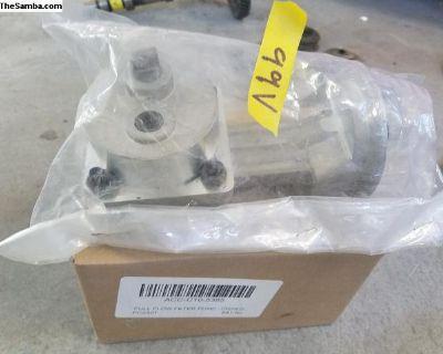 New oil filter pump