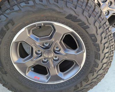 California - Rubicon 4 wheel and tires