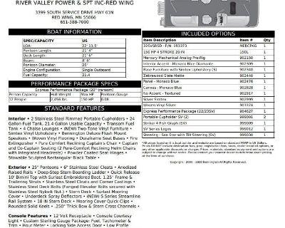 2022 Bennington SV Series 22 SVSR - VALUE CRUISE