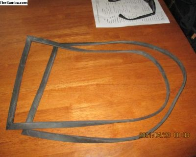 Porsche 356 A Rear side window rubber