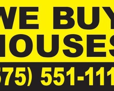 WE BUY HOUSES IN ANY CONDITION!!!