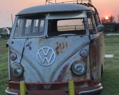 1966 Texas baked School bus super dry 13 window
