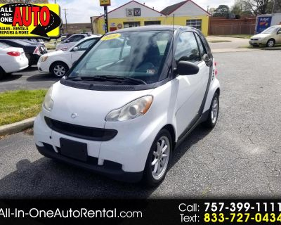 2009 Smart Fortwo 2dr Cpe Pure