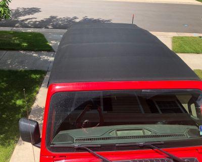 Colorado - 2018 Premium Mopar 4-door JL Soft Top, Soft Top Window Bag, and Toplift Pro