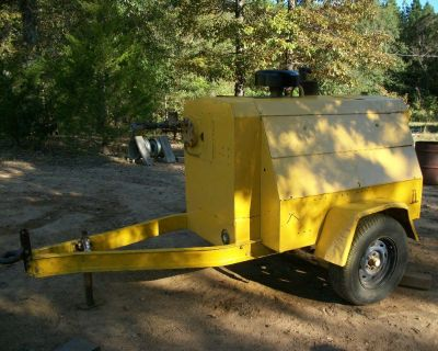 Portable Jobsite Diesel Compressor