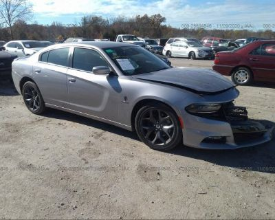 Salvage Silver 2017 Dodge Charger