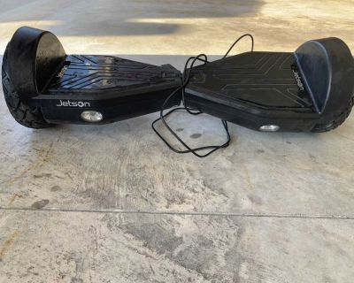 Jetson Rogue Hoverboard with charger