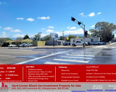 Hard-Corner Mixed Use Investment Property for Sale
