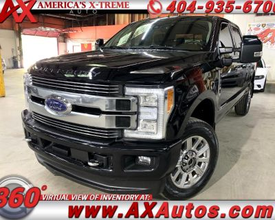2018 Ford F-350 SD Limited Crew Cab 4WD
