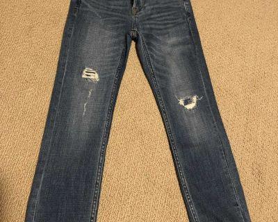 Boys Abercrombie jeans size 7/8