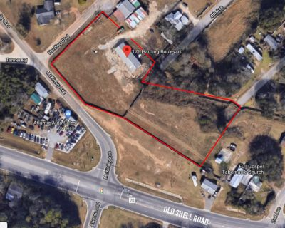 2.1 Acre Warehouse Property Along Old Shell Road