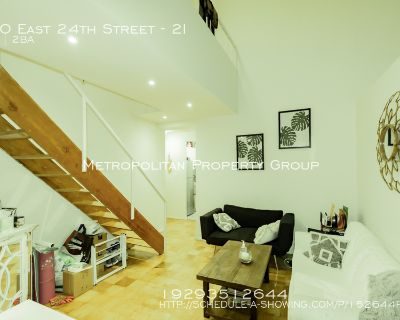 4Bed/ 2 Bath Duplex In A Part-time Doorman+ Elevator + Laundry, Building!