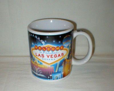 Welcome to Fabulous Las Vegas, Nevada Coffee Mug Cup - Monuments of Las Vegas