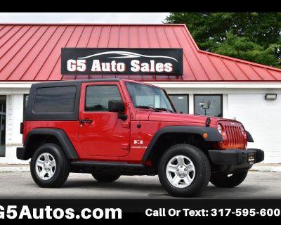Used 2008 Jeep Wrangler X