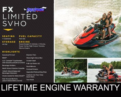 2021 Yamaha FX LIMITED SVHO Watercraft Clearwater, FL