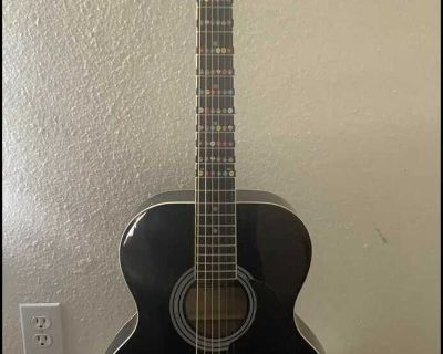 Stagg guitar and auto tuner