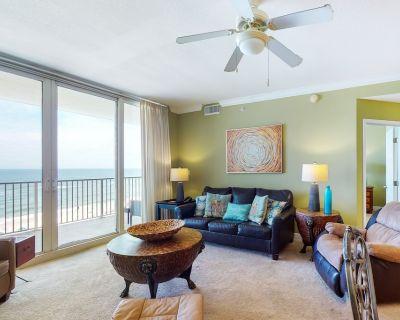 Seventh-Floor Beachfront Condo w/Free WiFi, Private Balcony, Shared Pool & Gym - Gulf Shores