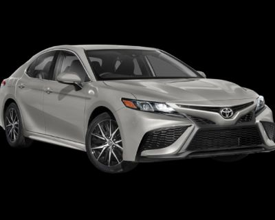 New 2022 Toyota Camry SE Front Wheel Drive InTransit