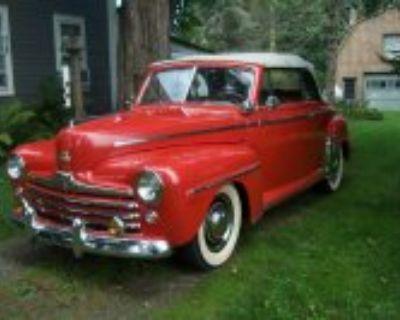 1948 Ford Convertible Older Amateur Restoration, $18K
