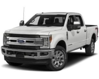 2017 Ford Super Duty F-250 King Ranch Crew Cab 6.75' Bed 4WD