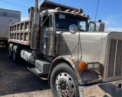 Solid 1993 Peterbilt 379 Dump Truck Detroit Series 60 13-Speed