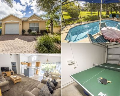 Private Pool - WiFi - Table Tennis Table - Southern Dunes - Haines City