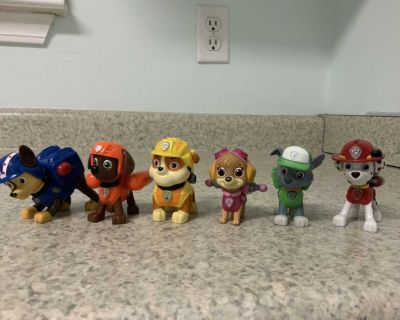 Paw Patrol Pups with Tool Backpacks See additional pics.